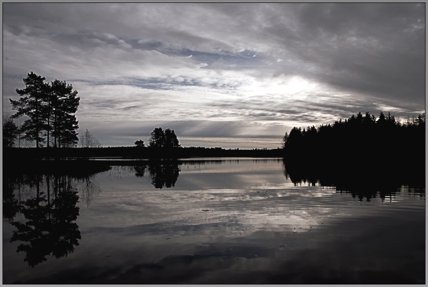 """photo """"Тwilight"""" tags: landscape, sunset, water"""