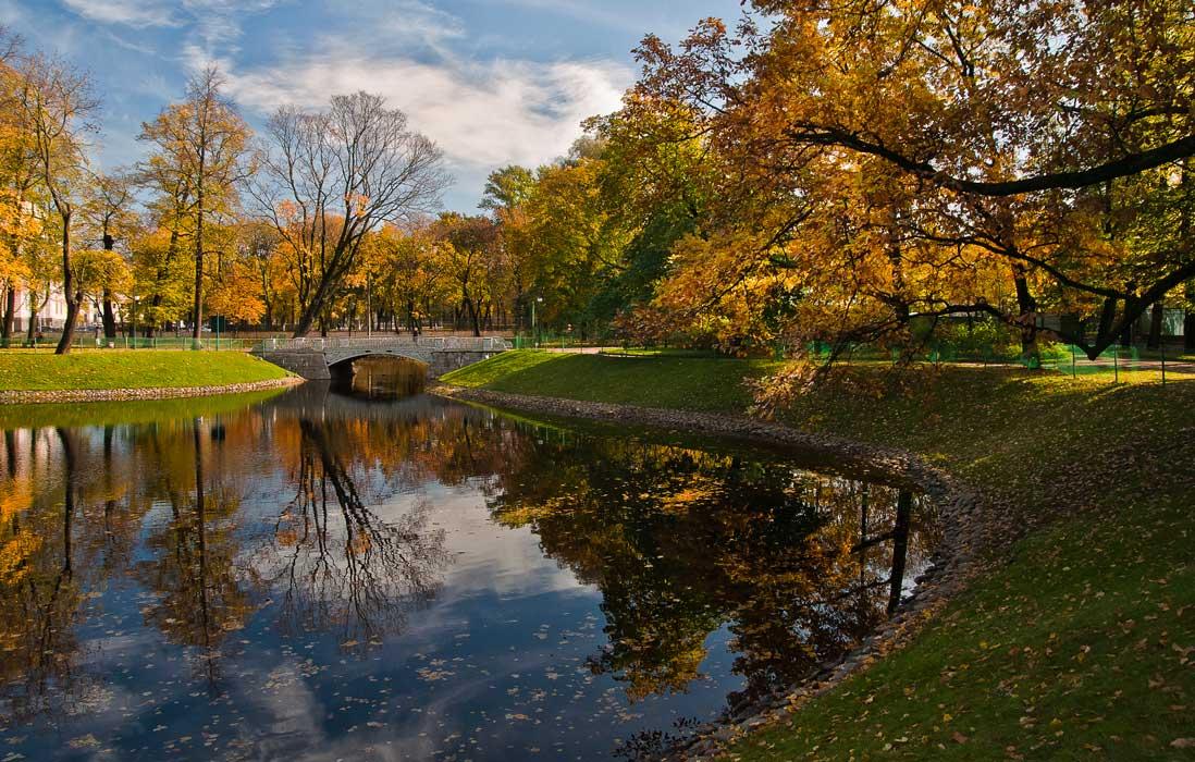 """фото """"Осень в Михайловском парке (2)"""" метки: пейзаж, вода, осень"""