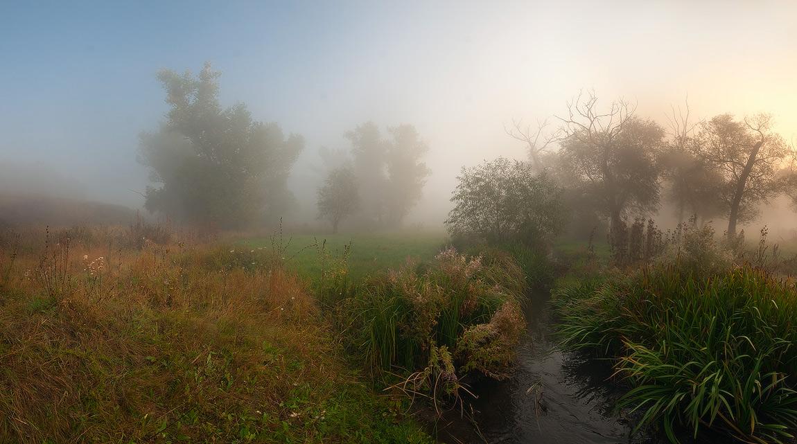 """фото """"Очарованные Туманом"""" метки: пейзаж, панорама, осень"""