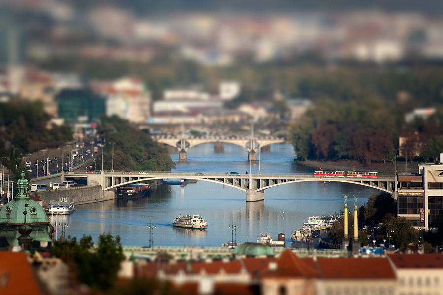 "фото ""Миниатюрная Прага"" метки: архитектура, фотомонтаж, пейзаж,"