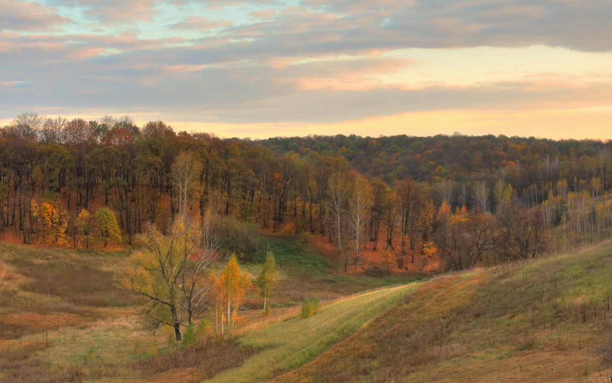 """фото """"Осенний вечер"""" метки: пейзаж,"""