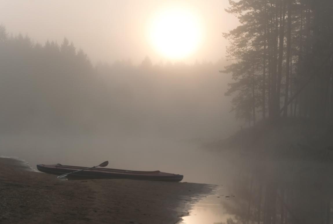 "фото ""Рассвет на Пре"" метки: пейзаж, закат"
