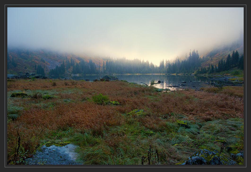"""фото """"Вечерний рассеянный свет"""" метки: пейзаж, вода, закат"""
