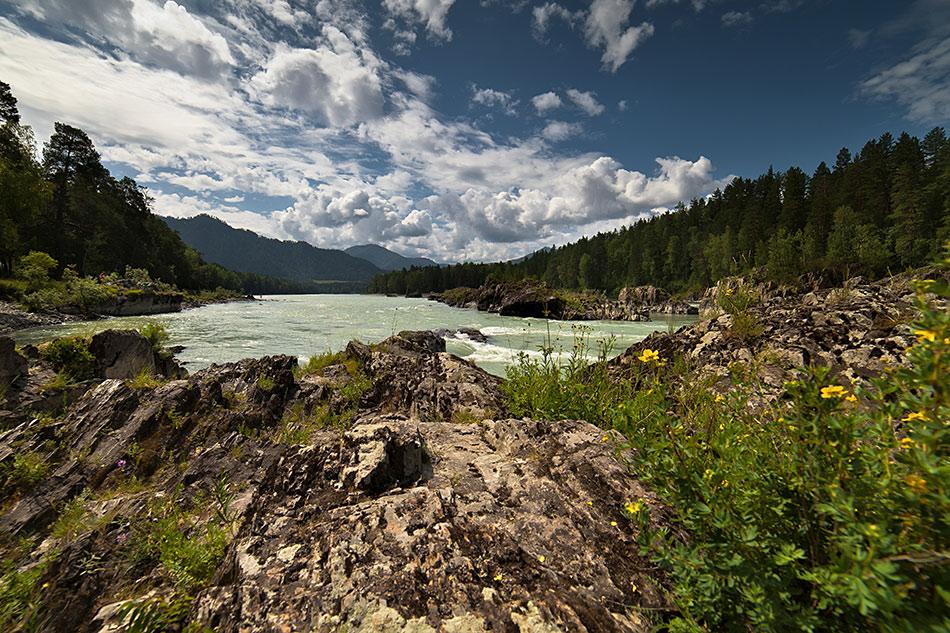 """фото """"Катунь"""" метки: пейзаж, вода"""