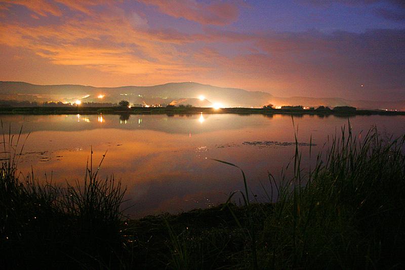 "фото ""Ночь на реке"" метки: пейзаж, ночь"