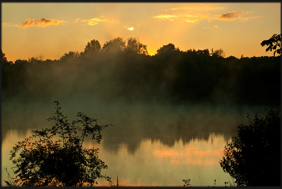 "photo ""Few moments before dawn"" tags: landscape, autumn, sunset"