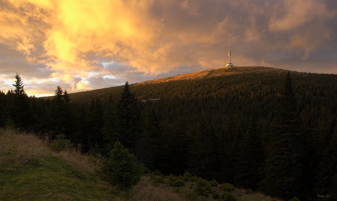 """фото """"Закат над Прадедом"""" метки: пейзаж, закат"""