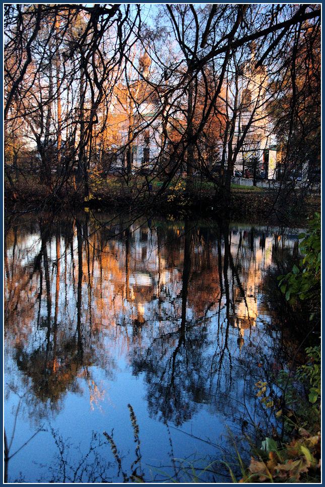 """фото """"***"""" метки: пейзаж, вода, осень"""