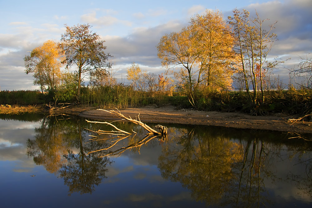 "фото ""Осень"" метки: пейзаж, вода, осень"