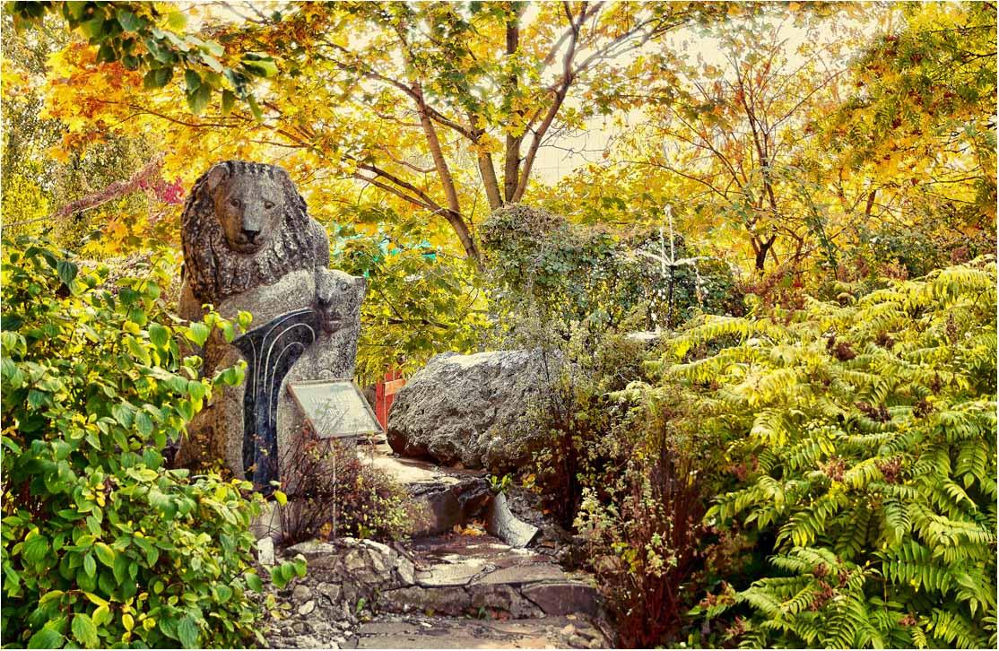 """фото """"Грусть каменного льва"""" метки: пейзаж, осень"""