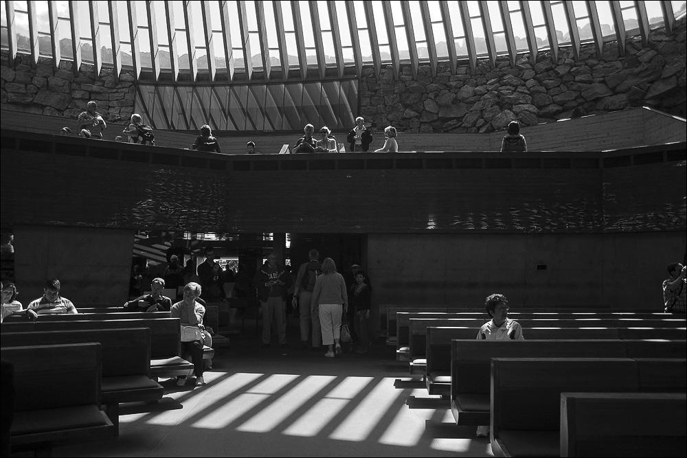 "photo ""The church in the rock (Temppeliaukio)"" tags: interior, genre,"