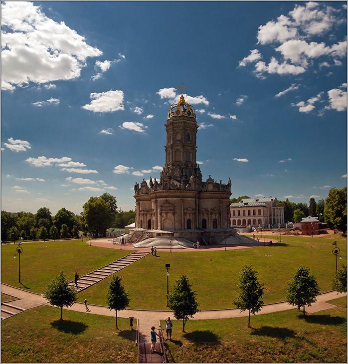 "фото ""Дубровицы летом"" метки: архитектура, пейзаж,"