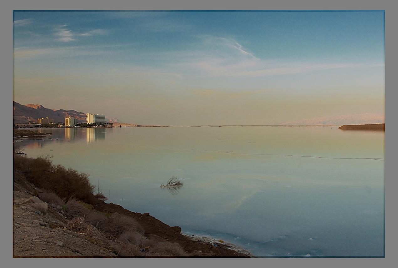 """фото """"The Dead Sea"""" метки: пейзаж, вода, закат"""