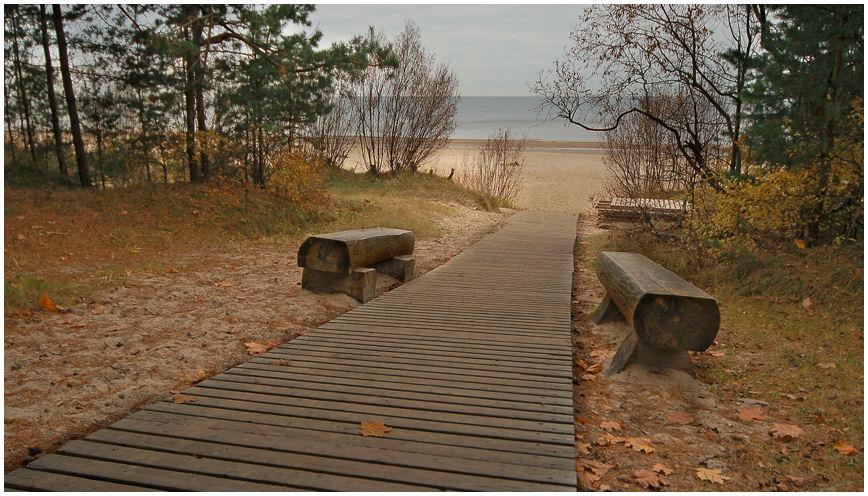 "фото ""Пляж опустел..."" метки: пейзаж, осень"