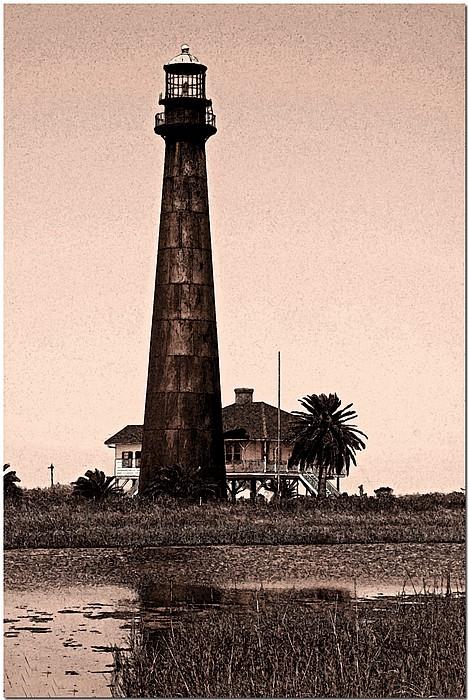 """фото """"Bolivar Lighthouse"""" метки: путешествия, пейзаж, Северная Америка"""