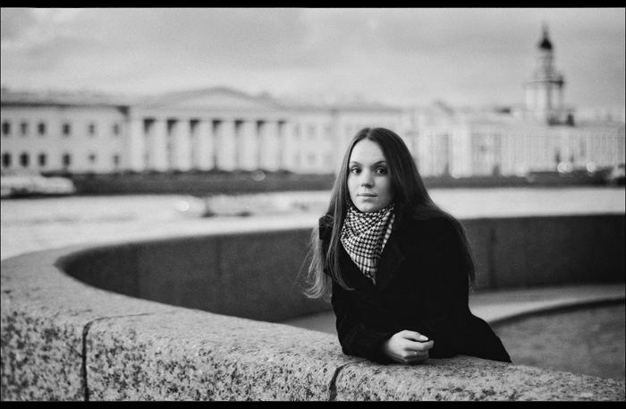 """фото """"Гранитный закат"""" метки: портрет, черно-белые,"""