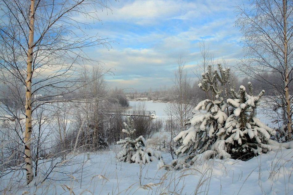 """фото """"Идет зима аукает..."""" метки: пейзаж, зима"""
