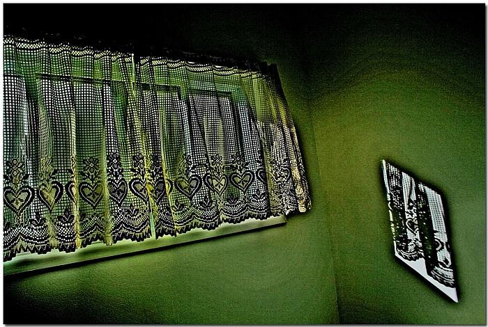 """фото """"The Green Room"""" метки: интерьер, абстракция,"""