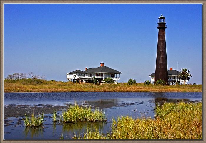 "фото ""Texas Lighthouse"" метки: архитектура, пейзаж, вода"