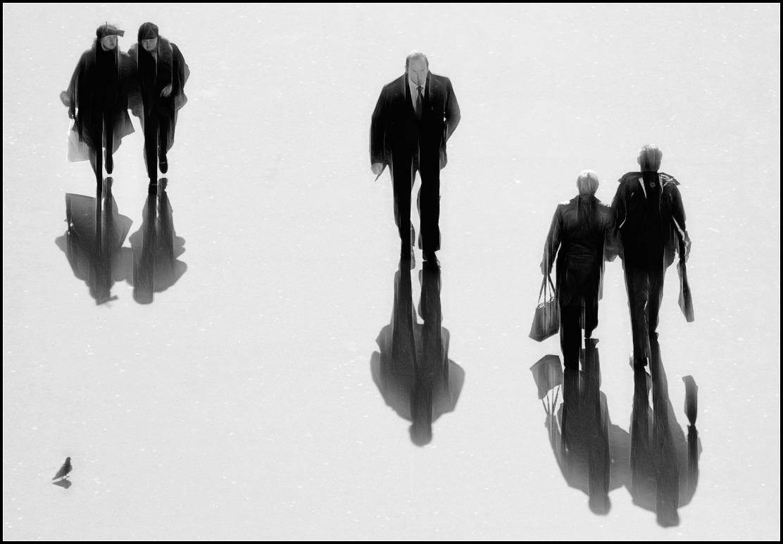 """фото """"тени"""" метки: город, черно-белые,"""