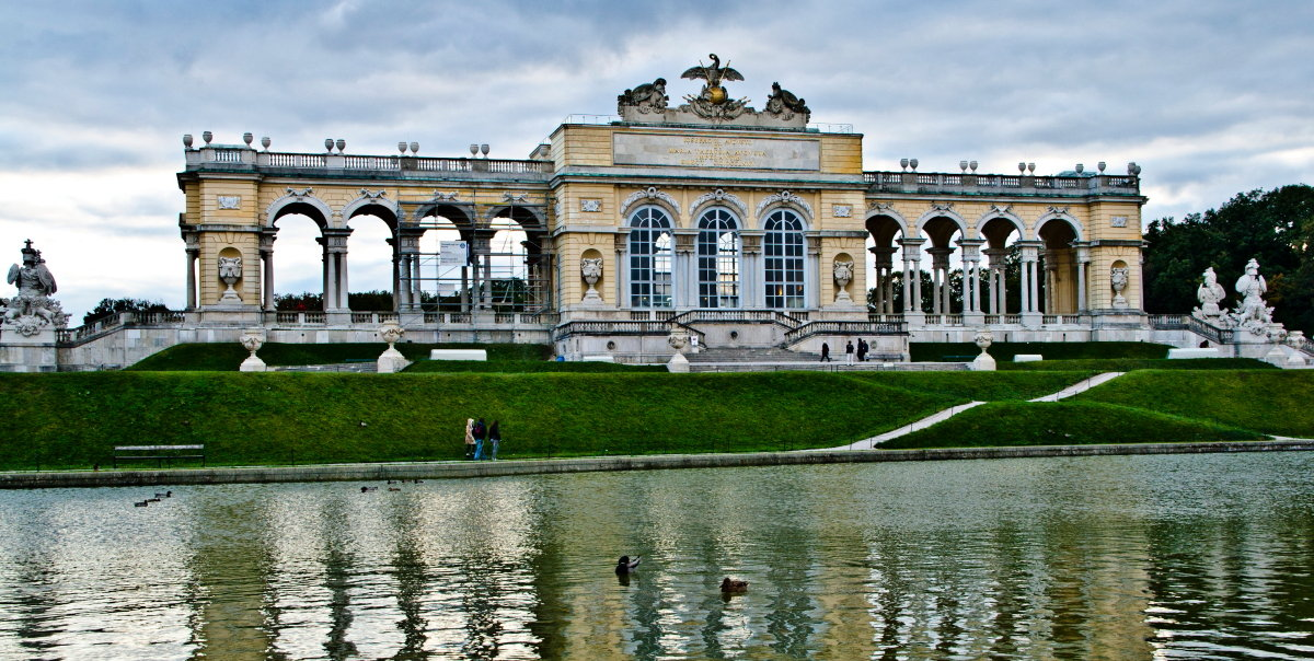 "фото ""Вена. Дворец на холме Глориетт"" метки: пейзаж, архитектура,"