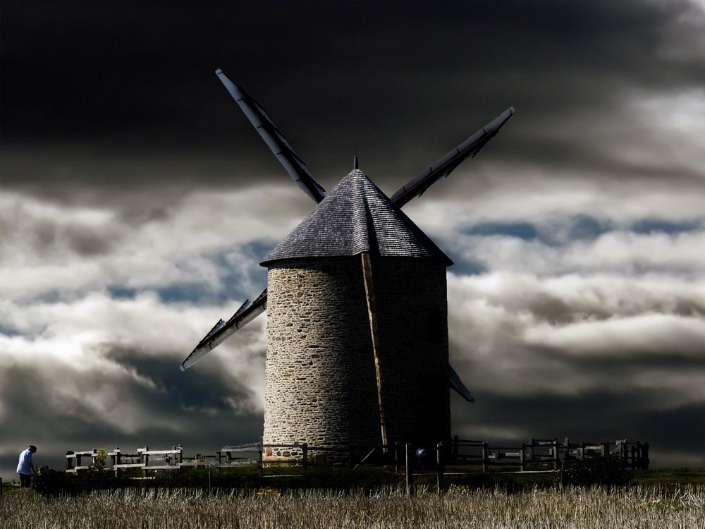 "фото ""Old Mill"" метки: архитектура, пейзаж,"