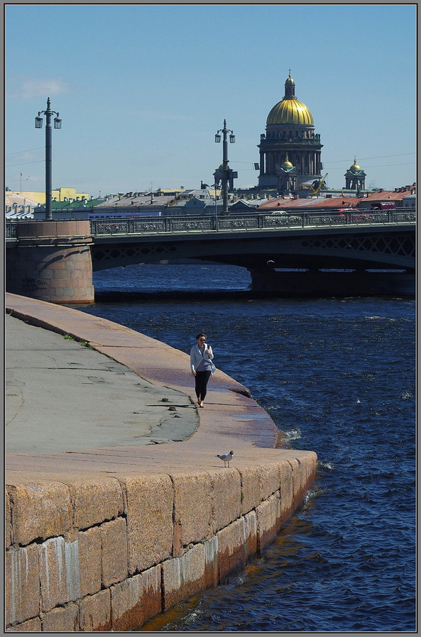 "фото ""Прогулка."" метки: город,"