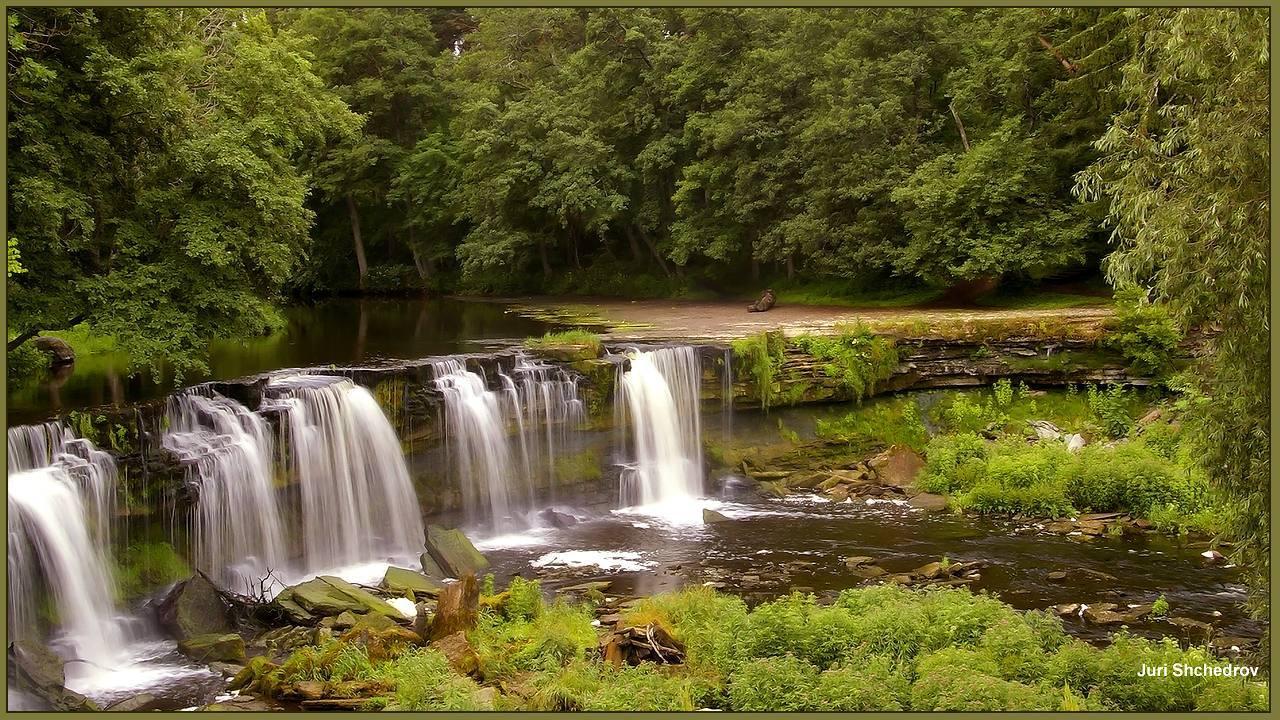 "фото ""Водопад Keila в Эстонии"" метки: пейзаж, природа,"