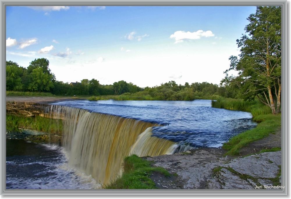 "фото ""Водопад Ягала в эстонии"" метки: пейзаж, путешествия, Европа, вода"