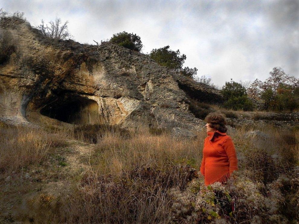 "фото ""Соблазн и страх"" метки: пейзаж, жанр, горы"