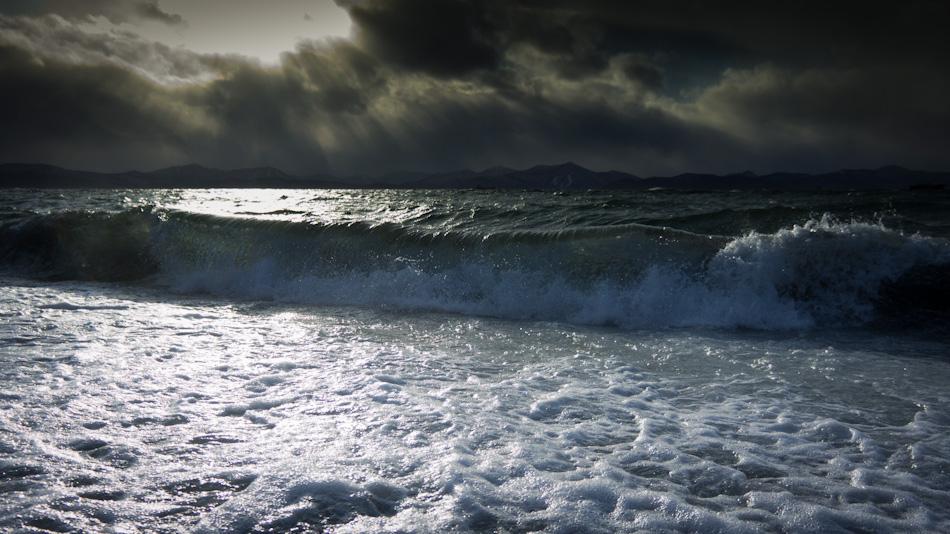 """фото """"Морской прибой 2"""" метки: пейзаж, вода"""