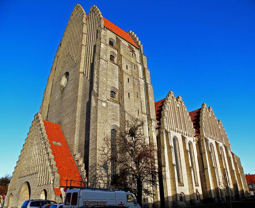 """фото """"Grundtvigs Church Copenhagen"""" метки: архитектура, репортаж, пейзаж,"""