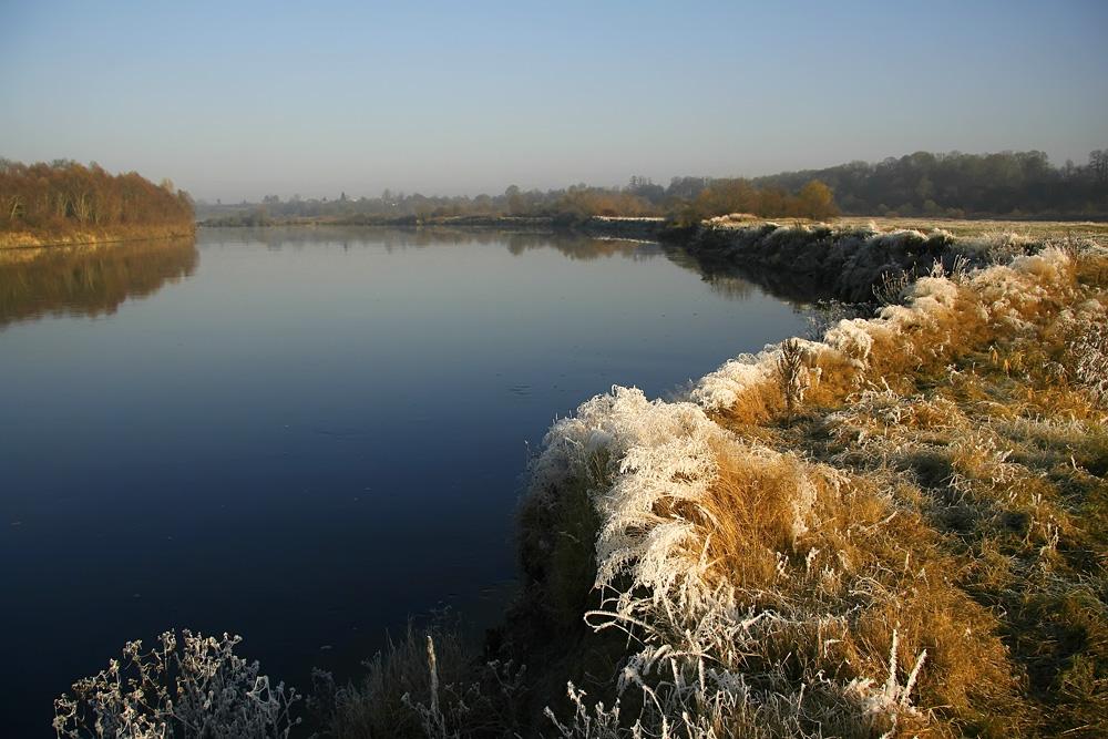 """фото """"Первые заморозки"""" метки: пейзаж, вода, осень"""