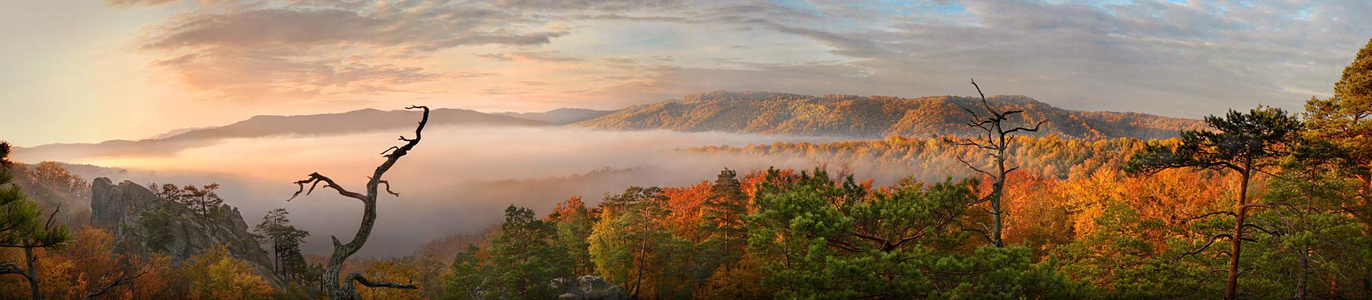 """фото """"необъятная осень"""" метки: пейзаж, панорама, горы"""