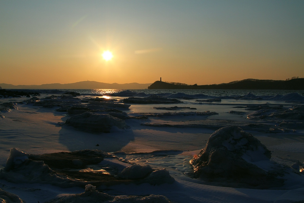 """фото """"Старый маяк"""" метки: пейзаж, закат"""