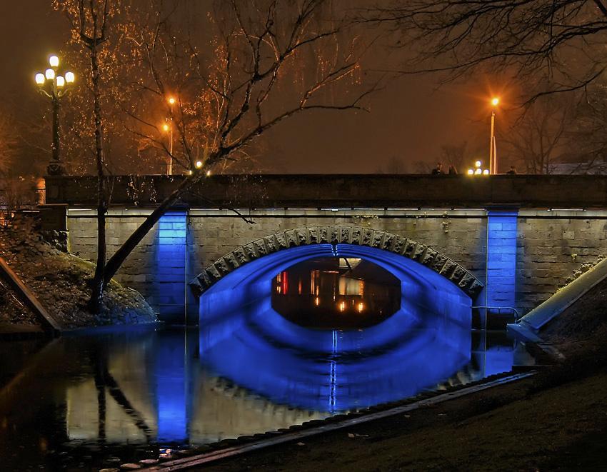 """фото """"Вечерняя зарисовка..."""" метки: город, пейзаж, вода"""