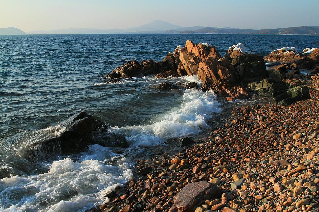 """фото """"Небольшая волна"""" метки: пейзаж, вода"""