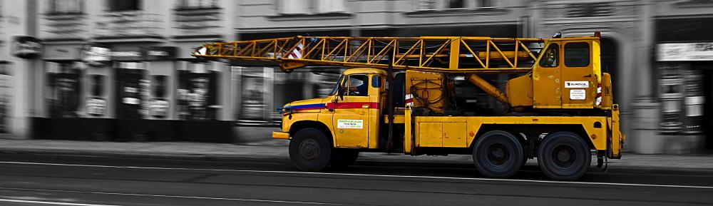 "фото ""Driving through Prague"" метки: техника, digital art,"