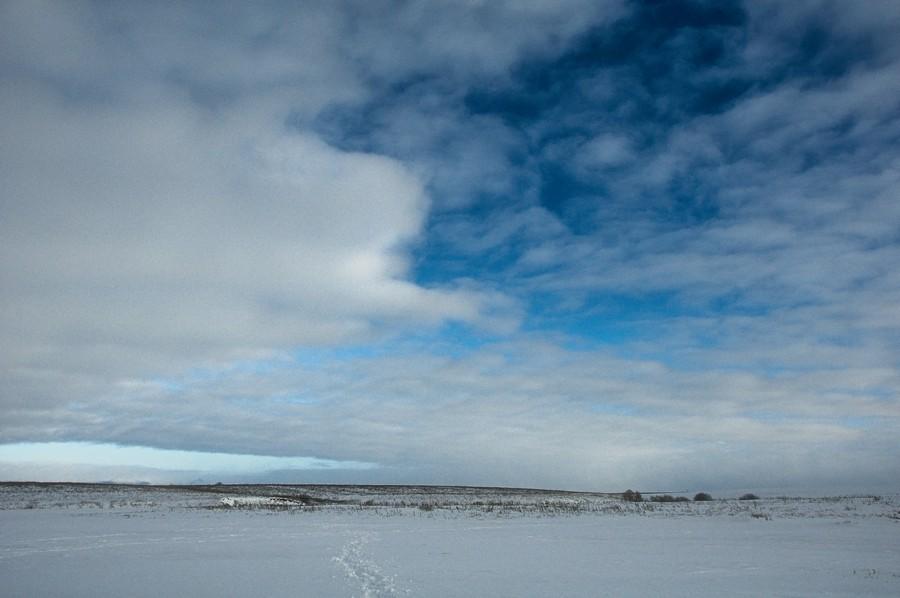 """фото """"Заснеженная равнина"""" метки: пейзаж, зима"""