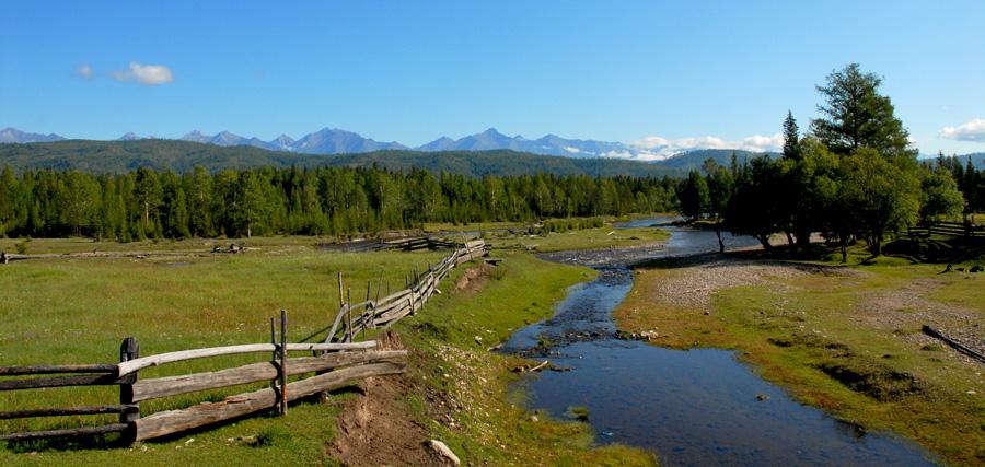 """фото """"Хребет Восточный Саян"""" метки: пейзаж, горы"""