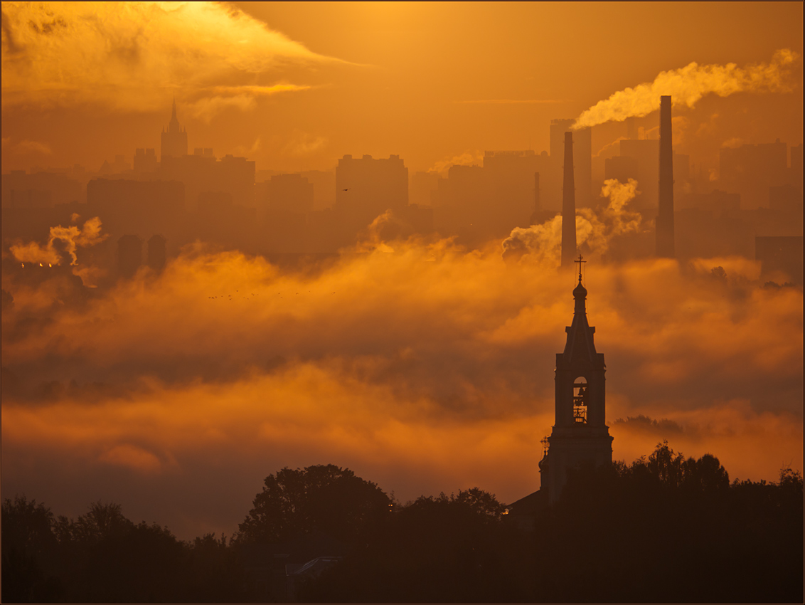 "фото ""А город спит еще..."" метки: архитектура, пейзаж,"