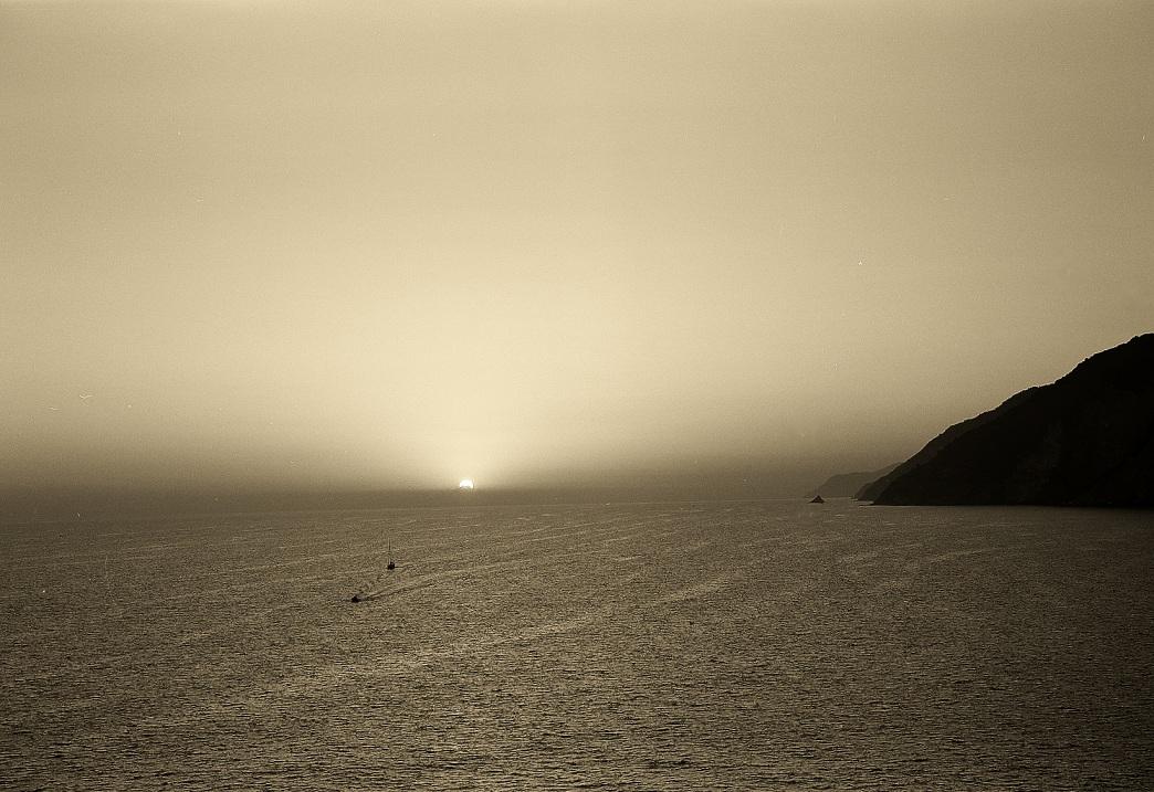 "фото ""cinque terre coart view from Porto Venere"" метки: ,"