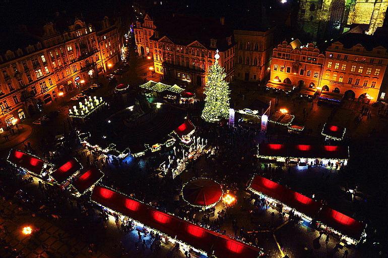 """фото """"Пражские Рождественские ярмарки"""" метки: город,"""