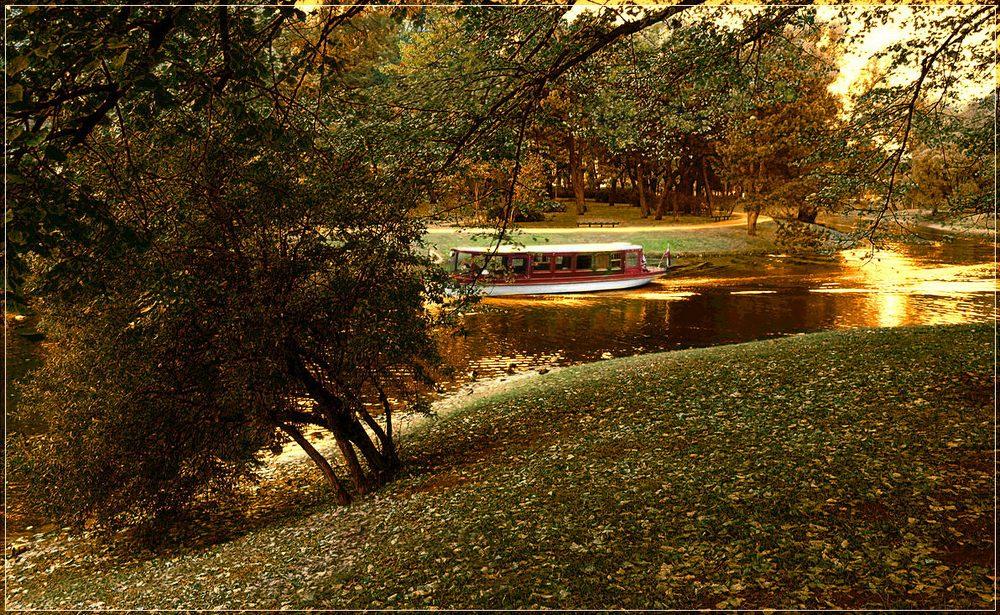 """фото """"Last voyage"""" метки: пейзаж, вода, осень"""