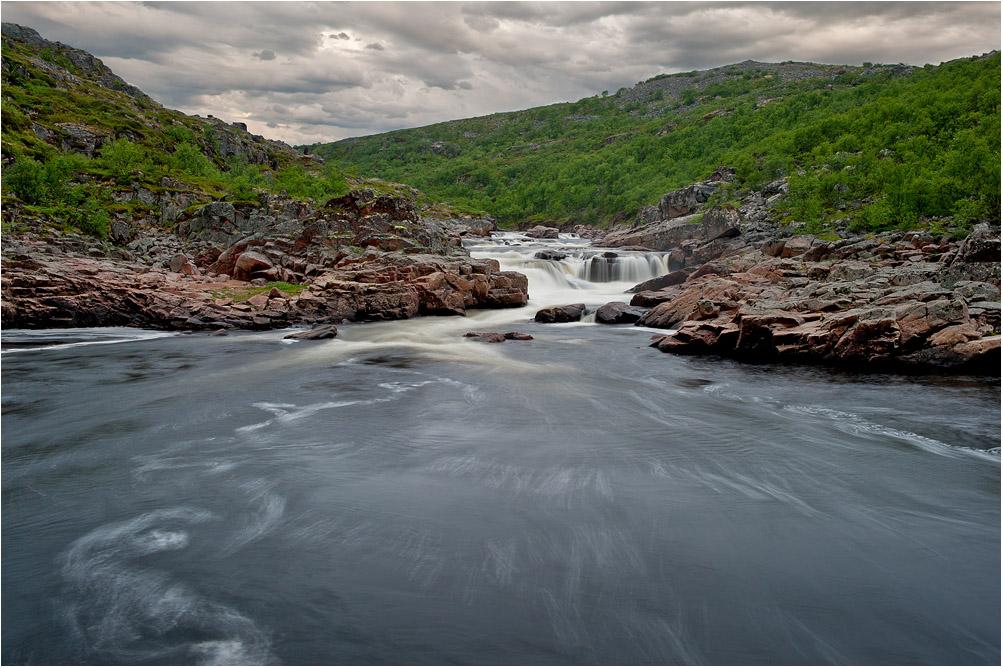 """фото """"Водопад на Харловке"""" метки: пейзаж, вода"""