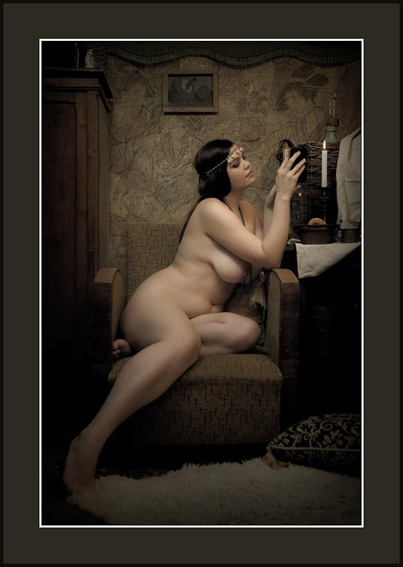 "фото ""Double Y, 2011"" метки: ню, ретро,"
