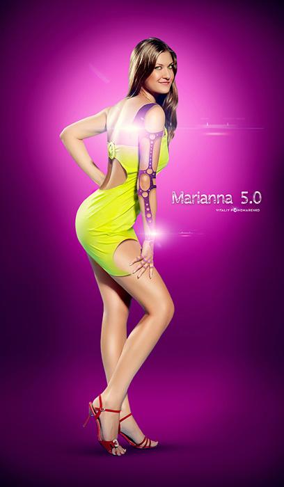 "фото ""Marianna 5.0"" метки: digital art, фотомонтаж,"