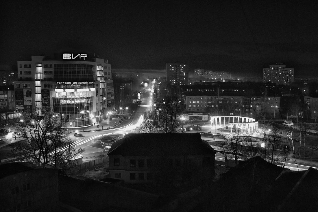 """фото """"Ночь..."""" метки: пейзаж, черно-белые,"""