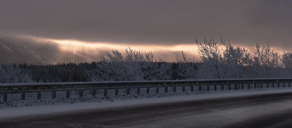 """фото """"Проделав брешь в затишье... В.С.Высоцкий"""" метки: пейзаж, зима"""