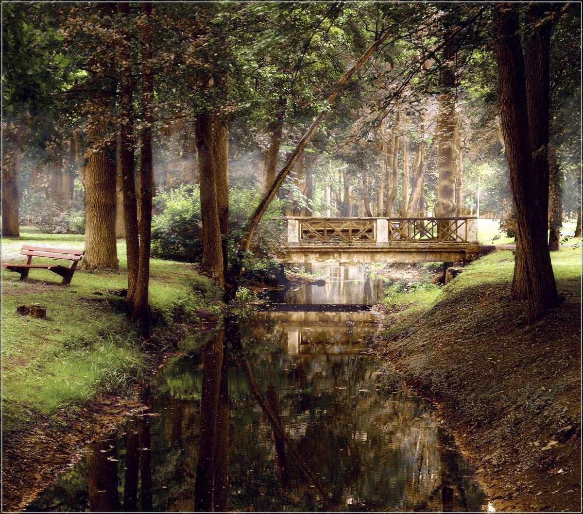 "фото ""Old bridge"" метки: пейзаж, архитектура, лес"